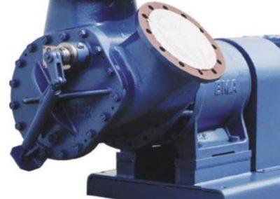 F 1000 F model massecuite pump
